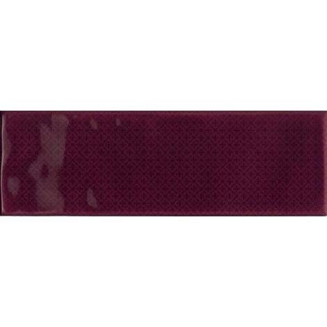 Cerdisa Brick Inspiration Burgundy Pattern 10 x 30 cm