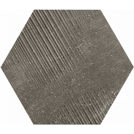 Provenza Eureka Moka Tartan Esagona 22 x 19,3 cm