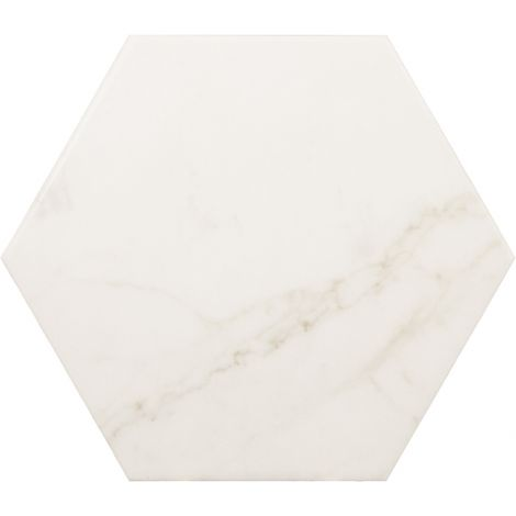 Equipe Carrara Hexagon 17,5 x 20 cm
