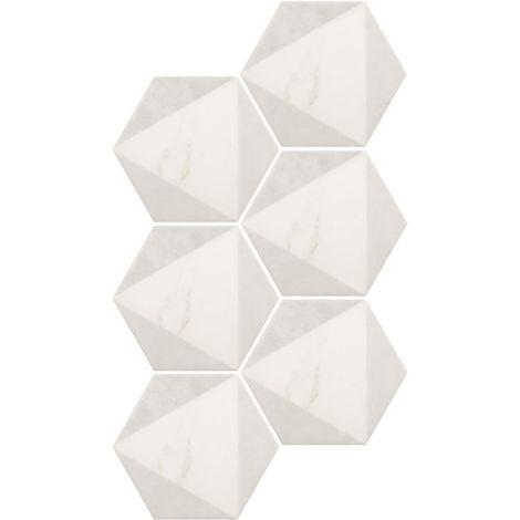 Equipe Carrara Hexagon Peak 17,5 x 20 cm