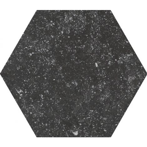 Equipe Coralstone Hexagon Black 29,2 x 25,4 cm