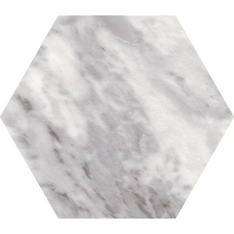 Equipe Bardiglio Hexagon Dark 17,5 x 20 cm