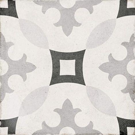 Equipe Art Nouveau Karlsplatz Grey 20 x 20 cm