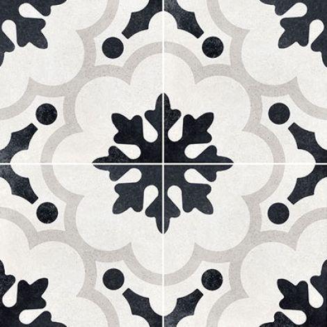 Fioranese Cementine Black&White 2 20 x 20 cm