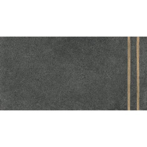 Fioranese 2 Lines Sfrido Cemento4 Nero 60 x 120 cm