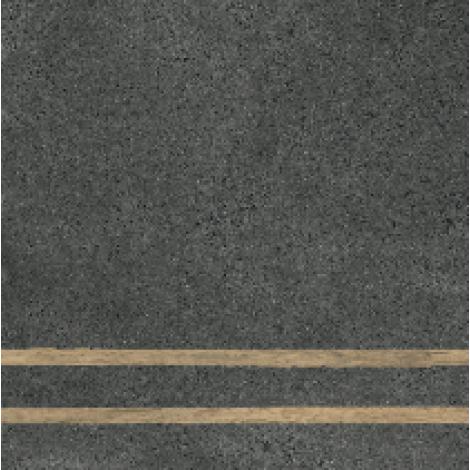 Fioranese 2 Lines Sfrido Cemento4 Nero 60 x 60 cm