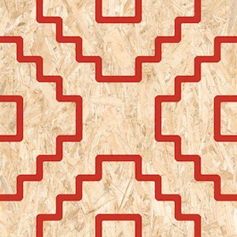 Vives Seriaki-R Natural Rojo 59,3 x 59,3 cm