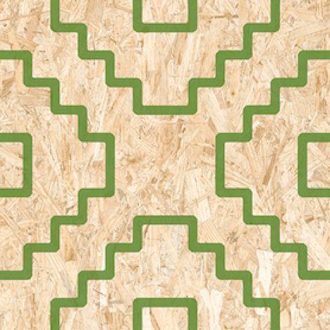 Vives Seriaki-R Natural Verde 59,3 x 59,3 cm
