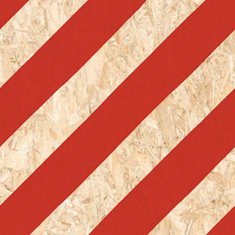 Vives Nenets-R Natural Rojo 59,3 x 59,3 cm