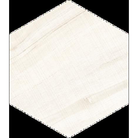 Vives Hexagono Gamma Blanco 23 x 26,6 cm