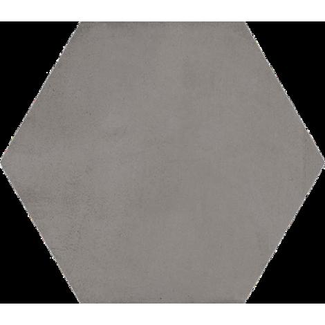 Vives Hexagono Bampton Grafito 23 x 26,6 cm
