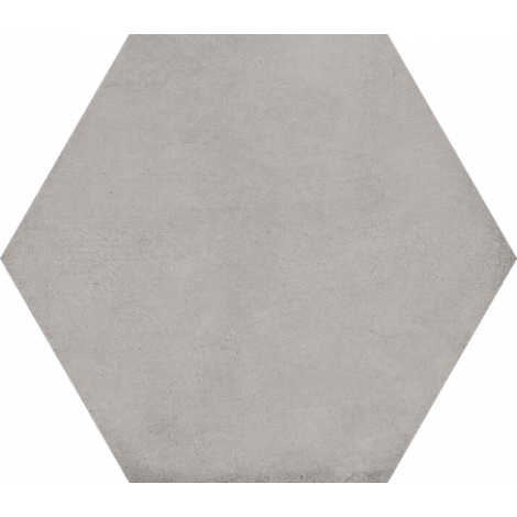Vives Hexagono Bampton Gris 23 x 26,6 cm