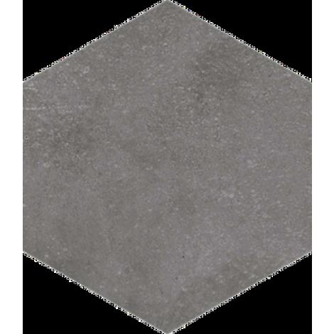 Vives Hexagono Rift Grafito 23 x 26,6 cm