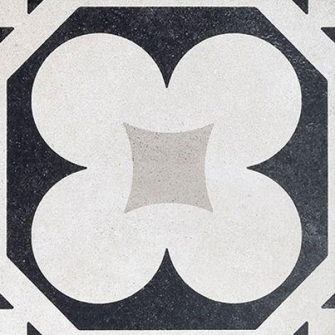 Fioranese Cementine Black&White 4 20 x 20 cm