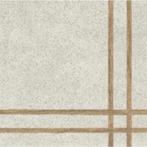 Fioranese 4 Lines Sfrido Cemento1 Bianco 60 x 60 cm