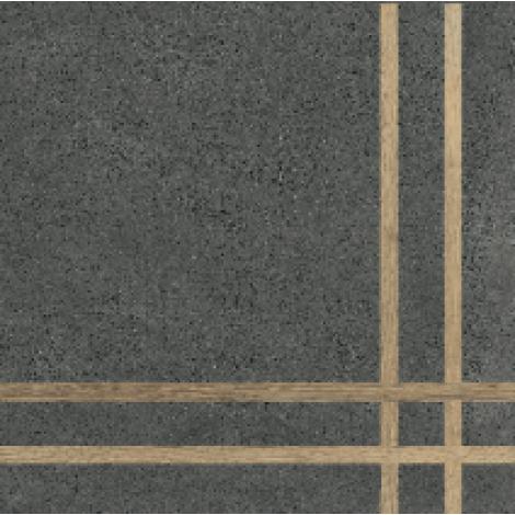 Fioranese 4 Lines Sfrido Cemento4 Nero 60 x 60 cm