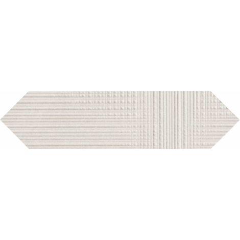 Provenza Eureka Bianco Tartan Losanga 7,5 x 30 cm