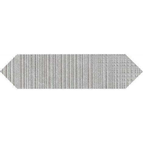 Provenza Eureka Grigio Tartan Losanga 7,5 x 30 cm