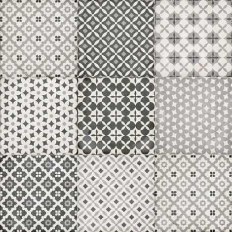 Equipe Art Nouveau Alameda Grey 20 x 20 cm