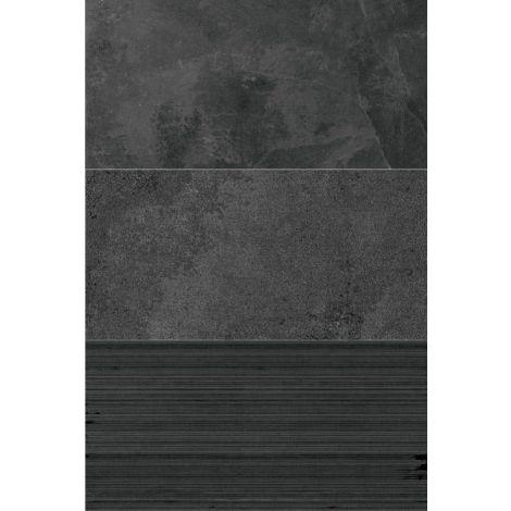 Coem Ardesia Mix Antracite Mix 37,5 x 75 cm