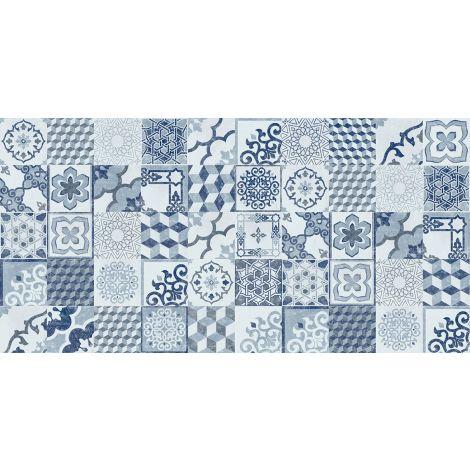 Savoia Domus Decori Blu 21,6 x 21,6 cm