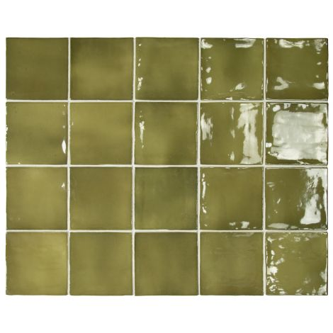 Equipe Manacor Basil Green 10 x 10 cm