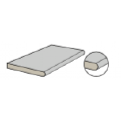Coem Kavastone Element mit runder Kante 30 x 60,4 x 2 cm