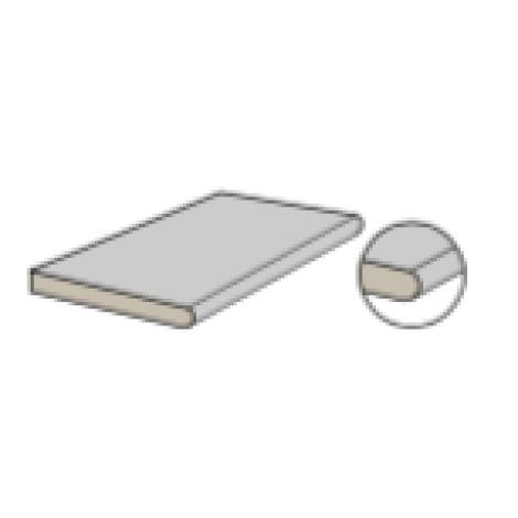 Coem Carrara Effect Element mit runder Kante 30 x 60,4 x 2 cm