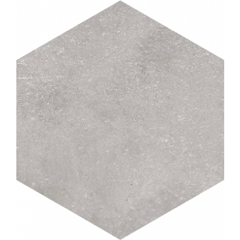 Vives Hexagono Rift Cemento 23 x 26,6 cm