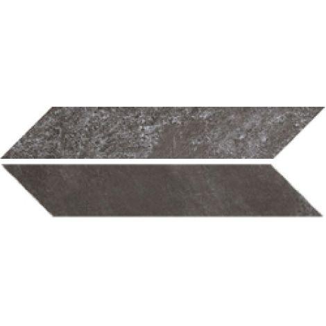 Sant Agostino Chevron Stone Dark Nat. 9,4 x 49 cm