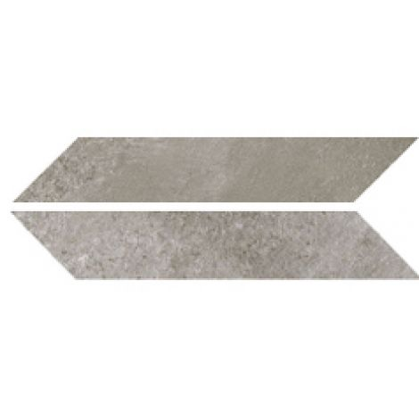 Sant Agostino Chevron Stone Grey Nat. 9,4 x 49 cm