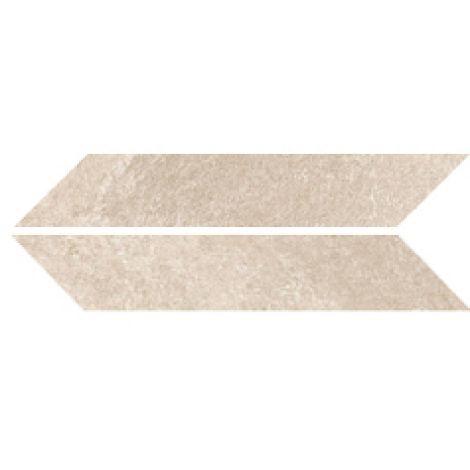 Sant Agostino Chevron Stone Sand Nat. 9,4 x 49 cm