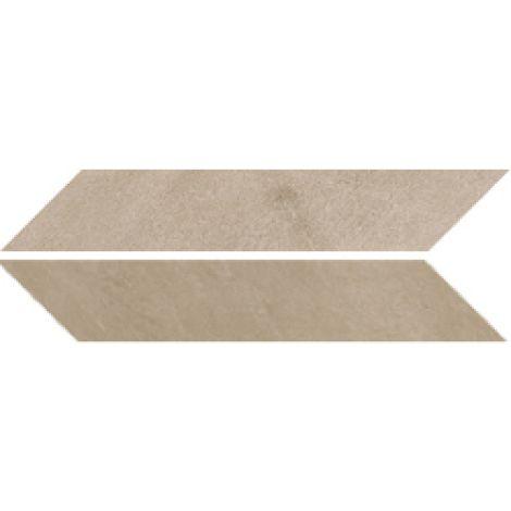 Sant Agostino Chevron Stone Taupe Nat. 9,4 x 49 cm