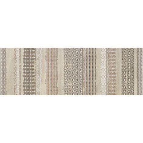 Dom Concretus Beige Inserto Tessuto 33,3 x 100 cm