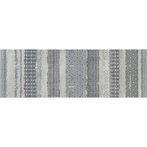 Dom Concretus Grigio Inserto Tessuto 33,3 x 100 cm