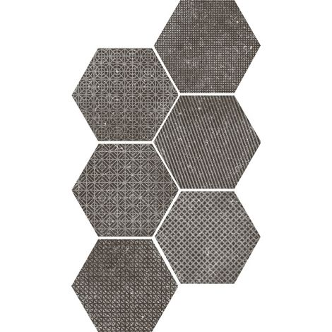 Equipe Coralstone Melange Black 29,2 x 25,4 cm