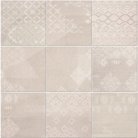 Provenza Decoro Patchwork Natural White 20 x 20 cm