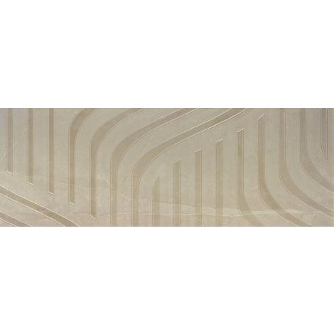 Fanal Decorado Fenix Crema 31,6 x 90 cm