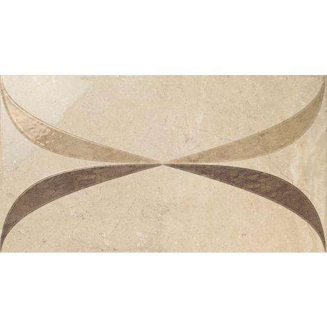 Fanal Decorado Lord Crema Bano 32,5 x 60 cm