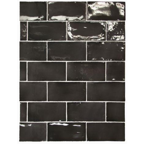 Equipe Manacor Black 7,5 x 15 cm