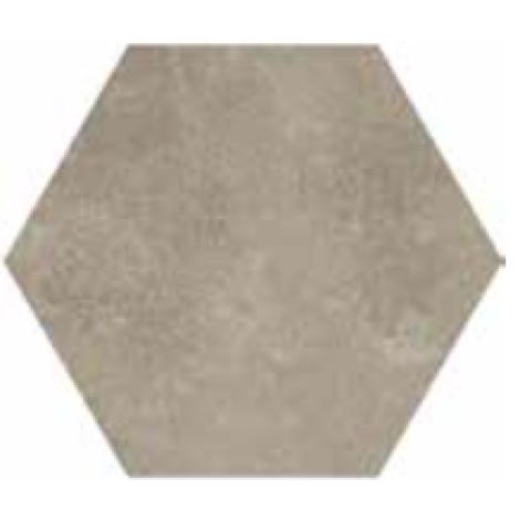 Castelvetro Fusion Esagona Lato 15 Cemento