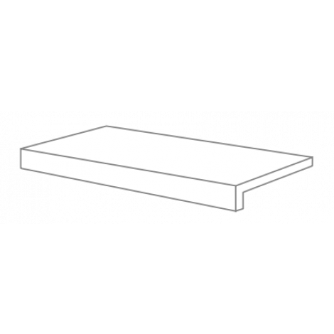 Provenza Re-Use Malta Grey Stufenplatte 20mm 33 x 90 cm