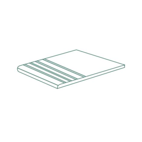 Grespania Dock Stufenfliese Mit Rille 30 x 60,3 x 2 cm
