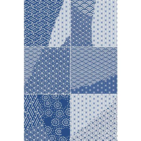 Fioranese Kintsugi Japan Mix Blue 20,13 x 20,13 cm