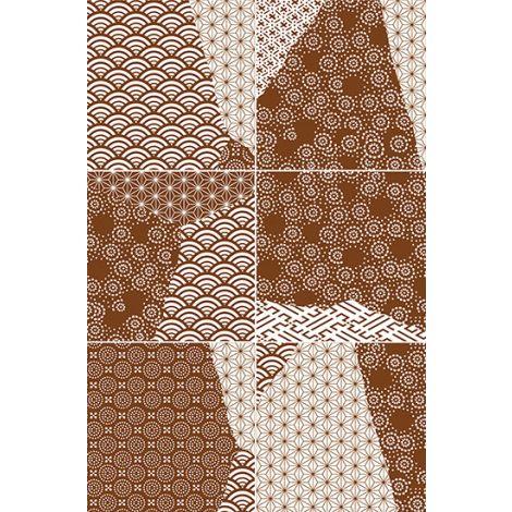 Fioranese Kintsugi Japan Mix Rust 20,13 x 20,13 cm
