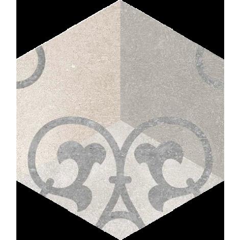 Vives Hexagono Kunashir 23 x 26,6 cm