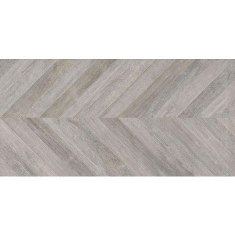 Keraben Lenda Chevron Grey 75 x 150 cm
