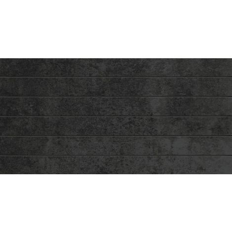 Fanal Lineal Stardust Black Lappato 30 x 60 cm