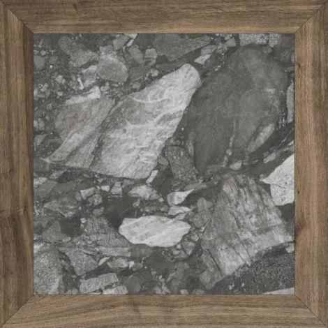 Fanal Losanga Stone Black 90 x 90 cm