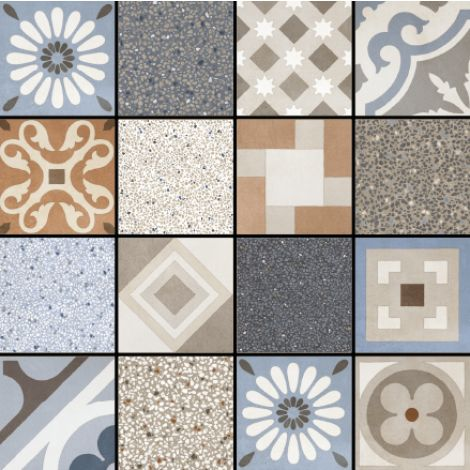 Fioranese Cementine Retro Mix 20 x 20 cm